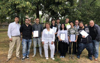 Persönlichkeitsbildender Kurs MoC erfolgreich abgeschlossen